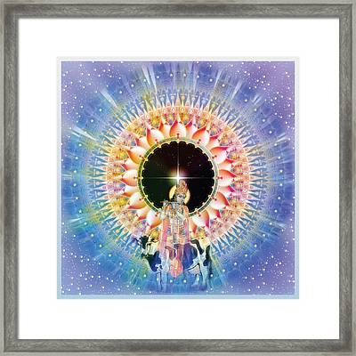 Krishna  Framed Print by Harald Dastis