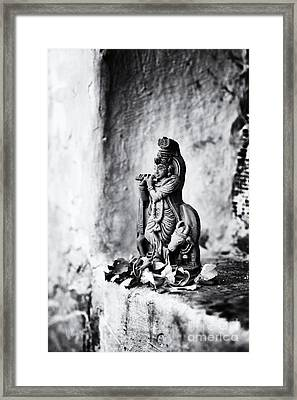 Krishna  Framed Print by Tim Gainey