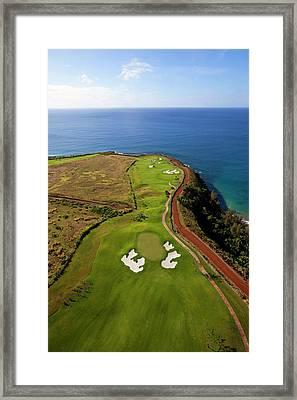 Kukuiula, Poipu, Kauai, Hawaii Framed Print by Douglas Peebles