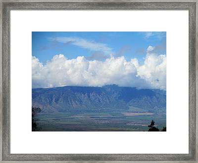 Framed Print featuring the photograph Kula by Alohi Fujimoto