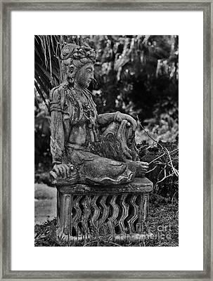 Kwan Yin Framed Print