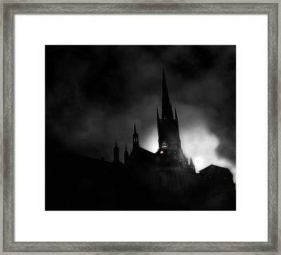 Kyrka Framed Print by David Fox