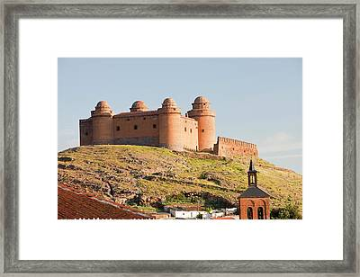 La Calahorra Castle Framed Print by Ashley Cooper