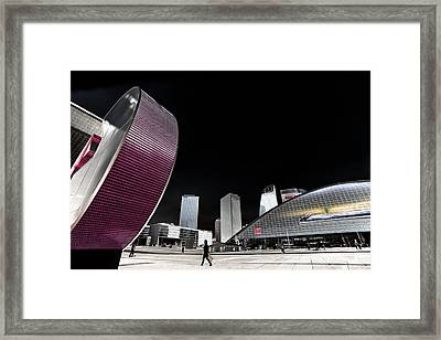 La Defense Paris Framed Print