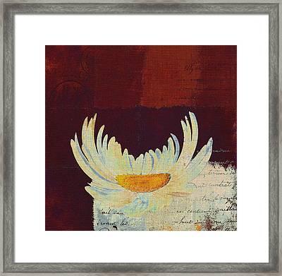 La Marguerite - 049143067 Framed Print