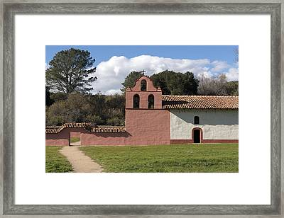 La Purisima Mission In Lompoc Framed Print