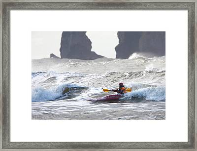 La Push, Washington, Usa Framed Print by Gary Luhm