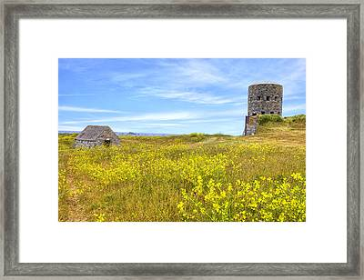 La Rousse Tower - Guernsey Framed Print