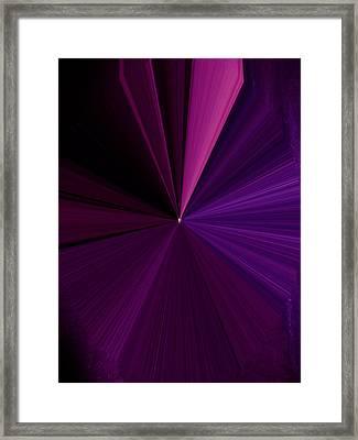 La Vie En Rose 16 Framed Print