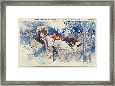 La Vie Parisienne 1920s France Maurice Framed Print by The Advertising Archives