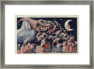La Vie Parisienne 1927 1920s France Framed Print by The Advertising Archives
