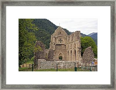 L'abbaye De Saint-jean-d'aulps Framed Print by Rod Jones
