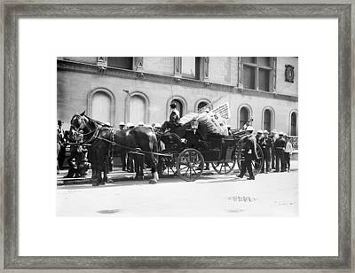 Labor Day Parade, C1908 Framed Print by Granger