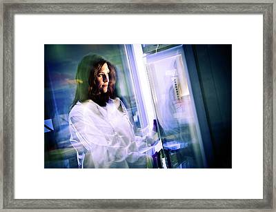 Laboratory Research Framed Print