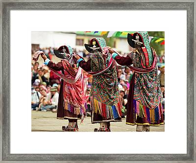 Ladakh, India The Amazing And Unique Framed Print by Jaina Mishra