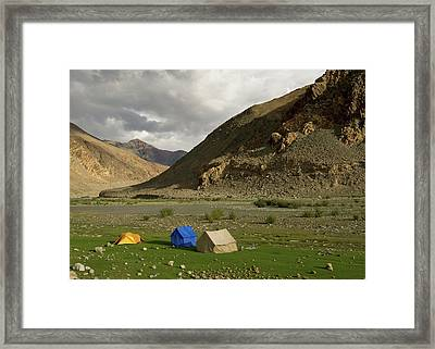 Ladakh, India The Landscapes Framed Print by Jaina Mishra