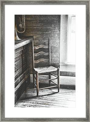 Ladderback Framed Print by JAMART Photography