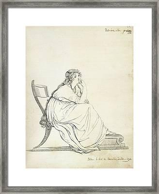 Lady Hamilton Framed Print by British Library