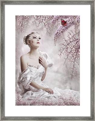 Lady Framed Print by Svetlana Sewell
