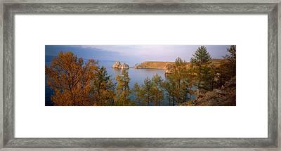 Lake Baikal Siberia Russia Framed Print by Panoramic Images