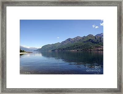 Lake Como - Italy Framed Print