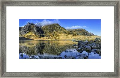 Lake Idwal Framed Print by Ian Mitchell
