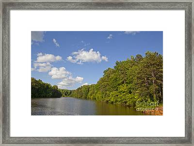 Lake Norman Cove Framed Print by Jonathan Welch