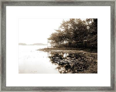Lake Orion, Mich, Lakes & Ponds, United States Framed Print