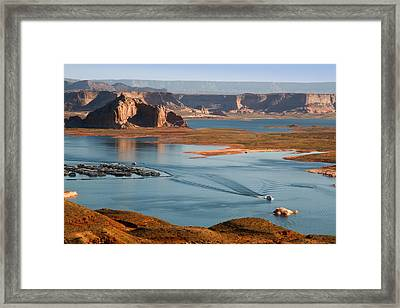 Lake Powell Utah Framed Print