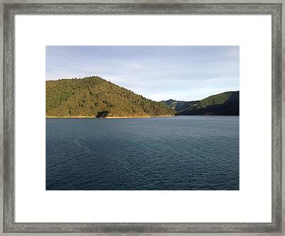 Lake Framed Print by Ron Torborg