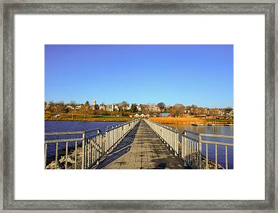 Lake Seneca Framed Print