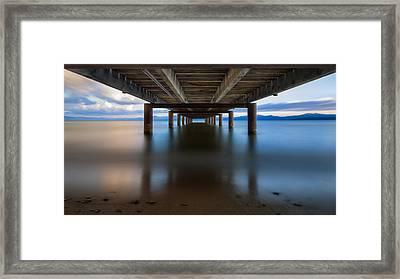 Lake Tahoe  Framed Print by Taylor Franta