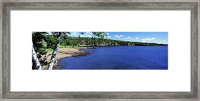 Lake View, Lake Superior, Duluth Framed Print