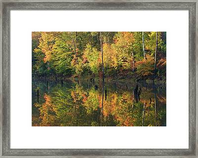 Lake Wedowee Alabama Framed Print