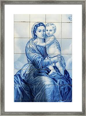 Lamego, Portugal, Shrine Of Our Lady Framed Print