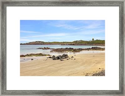 L'ancresse Bay - Guernsey Framed Print by Joana Kruse