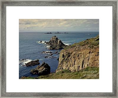 Seascape Lands End Framed Print