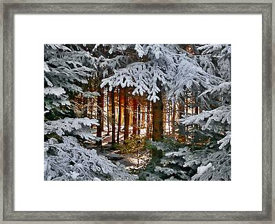 Framed Print featuring the photograph Landscape Art by Digital Art Cafe
