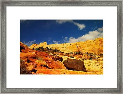 Landscape Framed Print by Jeff Swan