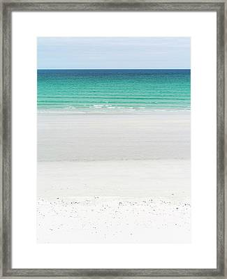 Landscape On The Island Of North Uist Framed Print