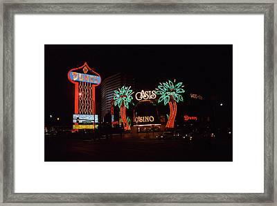 Las Vegas 1983 Framed Print