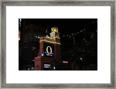 Las Vegas - Bellagio Casino - 12121 Framed Print by DC Photographer