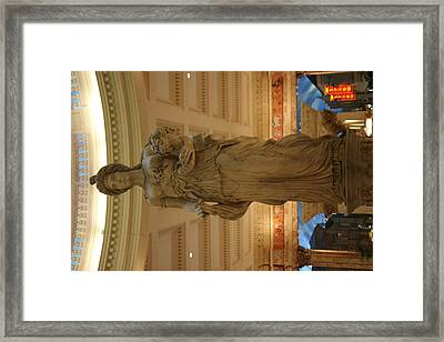Las Vegas - Caesars Palace - 121210 Framed Print by DC Photographer