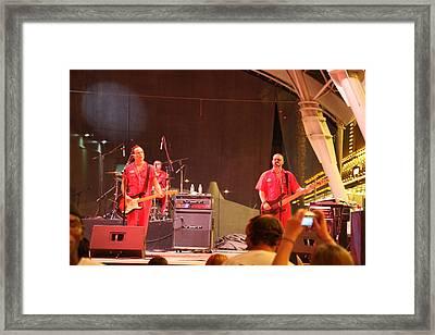 Las Vegas - Fremont Street Experience - 121213 Framed Print by DC Photographer