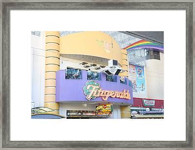 Las Vegas - Fremont Street Experience - 12122 Framed Print by DC Photographer