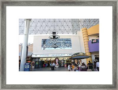 Las Vegas - Fremont Street Experience - 12123 Framed Print by DC Photographer