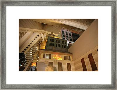 Las Vegas - Luxor Casino - 12123 Framed Print by DC Photographer
