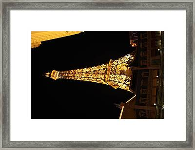 Las Vegas - Paris Casino - 121213 Framed Print
