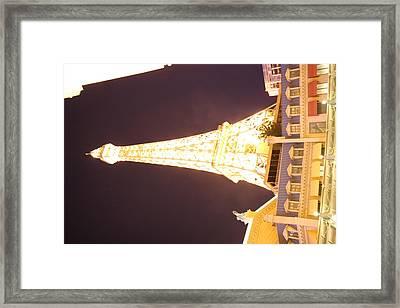 Las Vegas - Paris Casino - 121215 Framed Print by DC Photographer