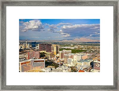 Las Vegas Strip  Framed Print by Amanda Miles